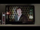 Новогоднее поздравление от Шерлока